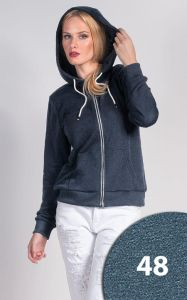 BLUZA LADIES' HOODY 65103